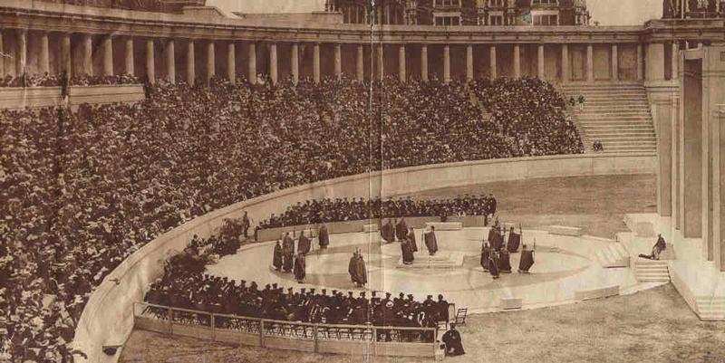 The Lewisohn Stadium.